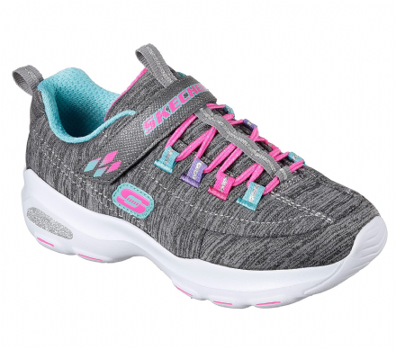 Skechers meditative D'lites Ultra Trainers (Grey)